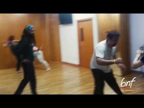 CAPOEIRA Lessons at bnf dance academy by Fernando Diaz