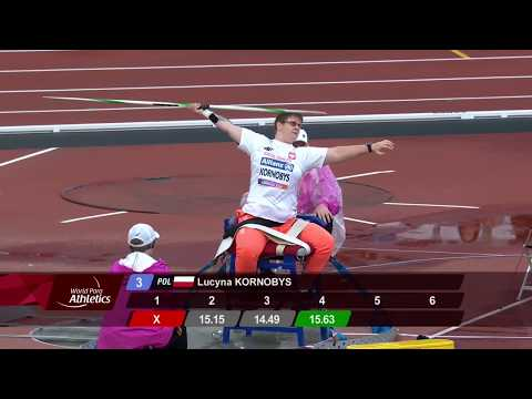 Bronze Women's Javelin F34 | Final | London 2017 World Para Athletics Championships