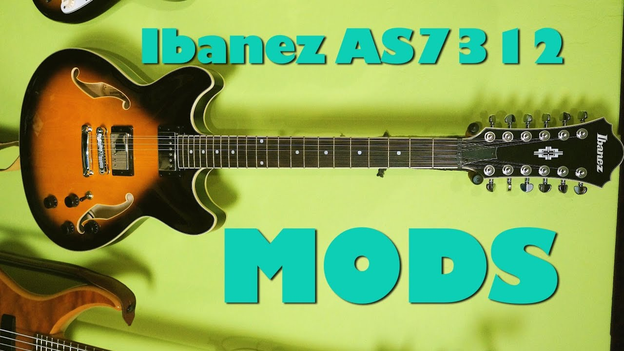 ibanez artcore as7312 semi hollow intonation mods youtube