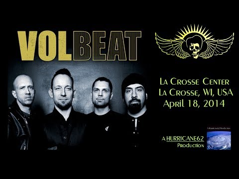 VOLBEAT - La Crosse, WI, USA - April 18, 2014 - FULL SHOW (HD)