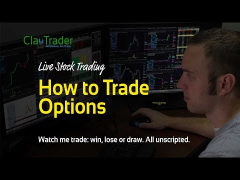 Live Day Trading - Learn How to Trade Options