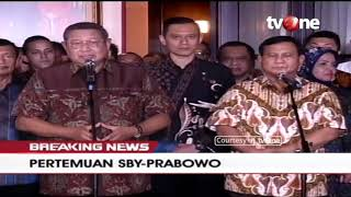 Download Video [BREAKING NEWS] Konferensi Pers Pertemuan SBY - Prabowo MP3 3GP MP4