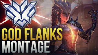 WHEN PROS DO GOD FLANKS - Overwatch Montage