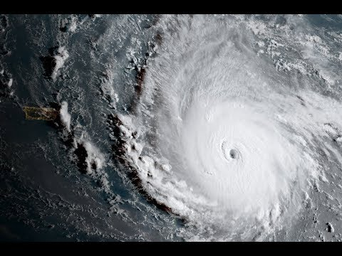 Live feed of outside my window hurricane Irma is on the way (New Port Richey, FL)