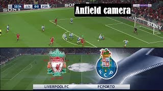PES 2018 Anfield camera: Liverpool vs Porto Highlights | R16 UEFA CL | Superstar | PC