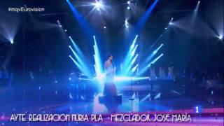 Ruth Lorenzo - Dancing In The Rain (Reprise after winning the Competition) Eurovision Spain