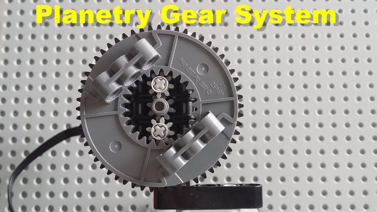 Planetary Gear Set >> LEGO Technics Planetary Drive System - YouTube