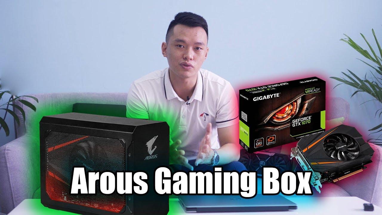 Đánh giá EGPU Arous Gaming Box GTX 1070 - Card màn hình ngoài cho Laptop