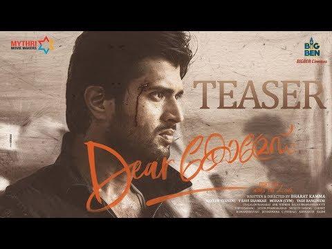 Dear Comrade Malayalam Teaser   Vijay Deverakonda   Rashmika   Bharat Kamma   Justin Prabhakaran
