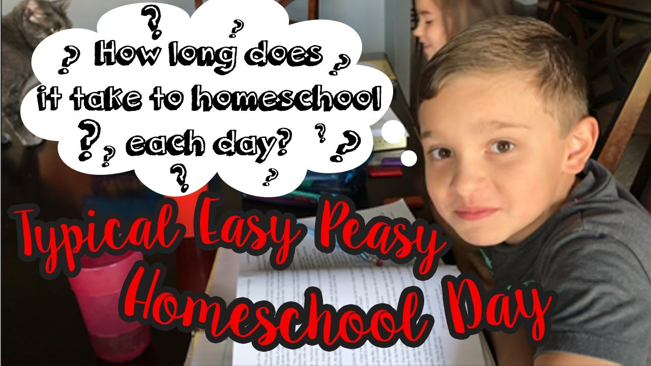 Typical Homeschool day using Easy Peasy All in One: How long does a  homeschool day last?