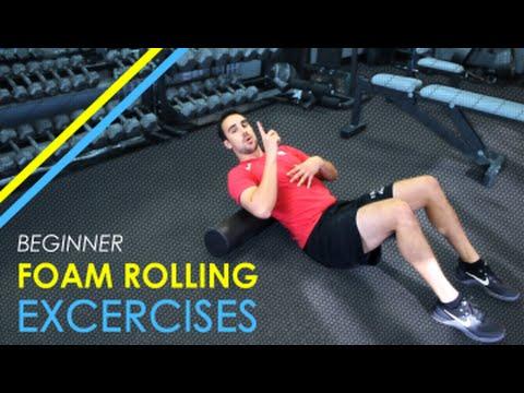 BEGINNER Foam Rolling Exercises