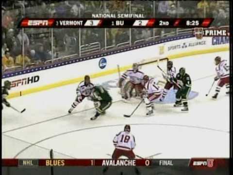 04/09/09 - University of Vermont vs. Boston University (Frozen Four Semifinal)