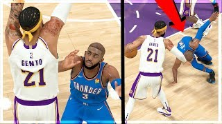 ANKLE BREAKER INJURY!?? DEADLY STEP BACK MOVE TO BREAK ANKLES! NBA 2K20 MyCAREER (My Player Nation)