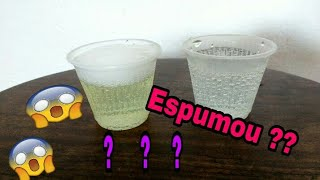 Teste de gravidez da água sanitária #3