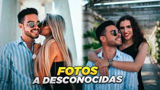 FOTOS A DESCONOCIDAS EN LA CALLE ft. MARCOS ALBERCA