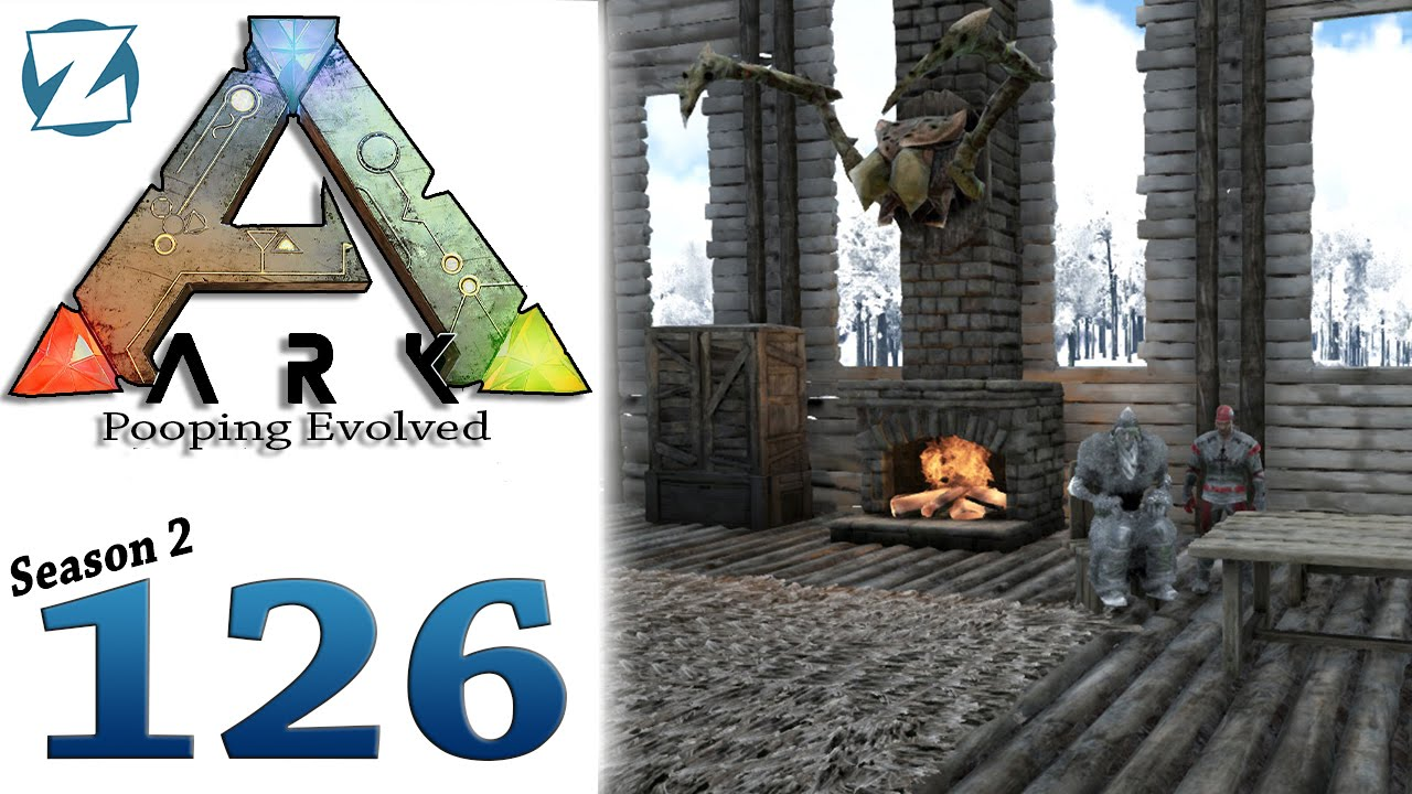 Ark Survival Evolved Gameplay S2 Ep126 Loft And Interior Decorating Let S Play Youtube