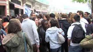 Des lycéens en soutien à Léonarda, expulsée au Kosovo