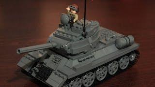 Lego Военная Академия /Lego Military Academy #3 (Tank T-34-85)