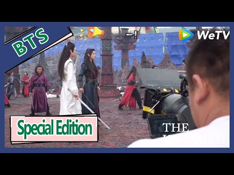 【ENG SUB 】The Untamed Special Edition BTS ——XIao Zhan And Wang Yi Bo Fighting Scene