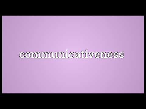 Header of communicativeness