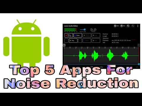 #audioeditorforandroid #audioeditor Noise Reduction | Top 5 Apps for Audio Editing in Android 2020