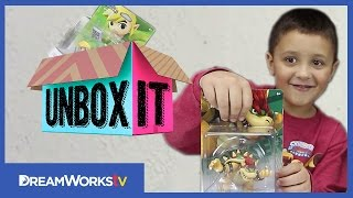 Amiibo Wave 3 Bowser & Toon Link with TheSkylanderBoy | UNBOX IT