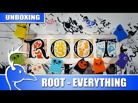 Root: The Complete Collection - Overview & Unboxing - (Quackalope Games)