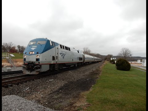 Railfan the Mohawk, Empire, & Patriot Corridor part 1 of 2