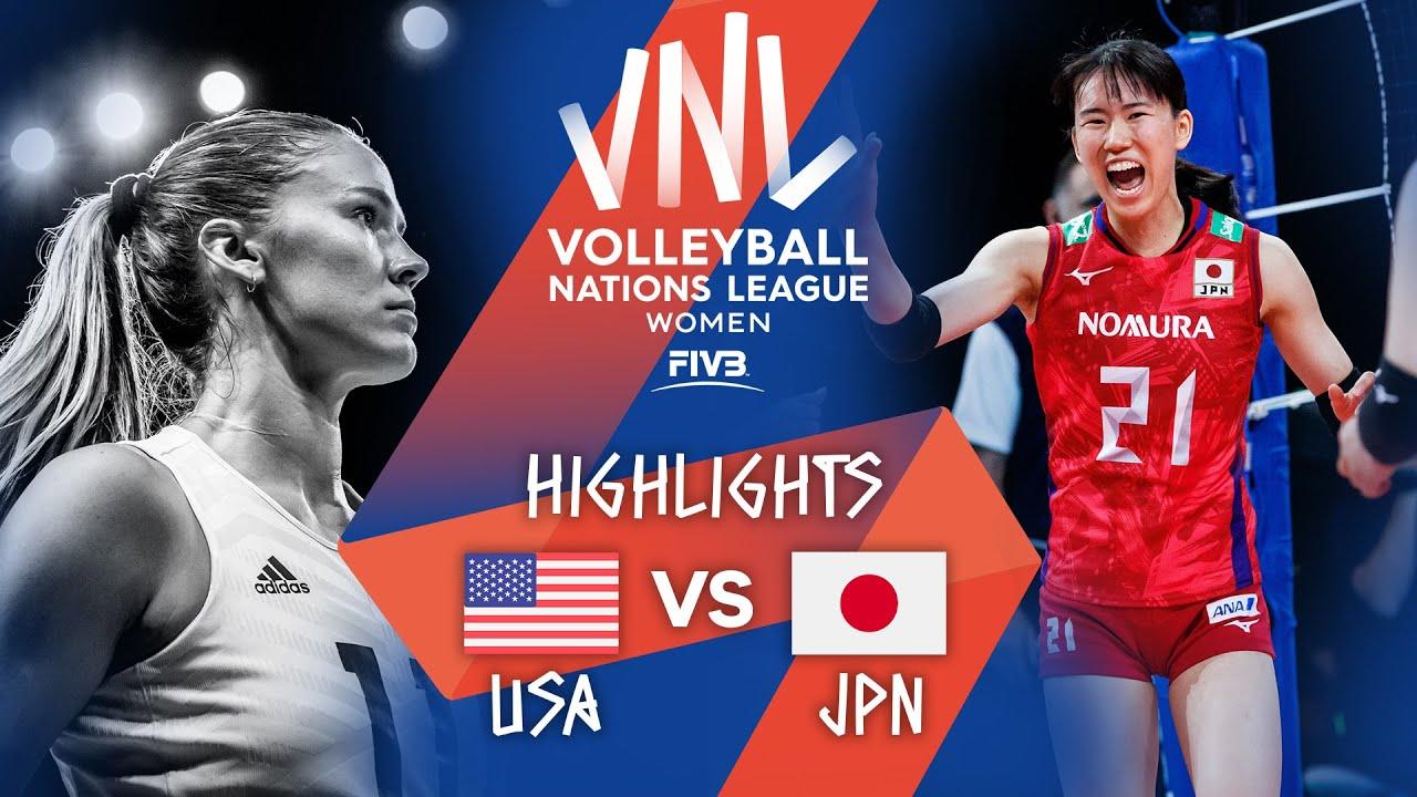 Download USA vs. JPN - Highlights Week 4 | Women's VNL 2021