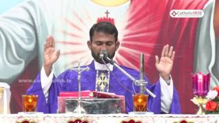 Word of God by Rev. Fr. Yesudas (Couples Retreat) @ DRRC, Margherita, Assam. 18-12-16