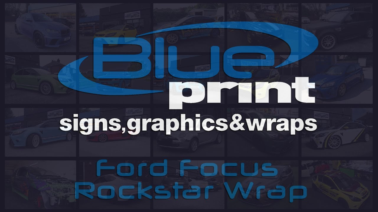 Blueprint wraps nottingham ford focus rs rockstar youtube blueprint wraps nottingham ford focus rs rockstar malvernweather Image collections