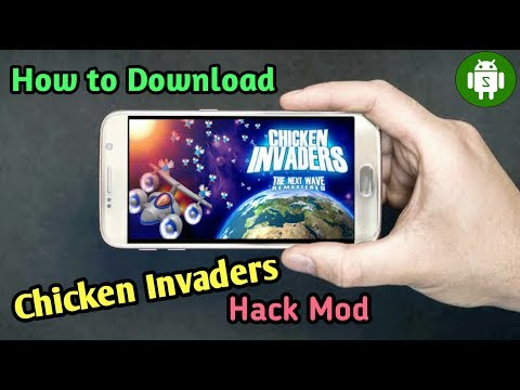 How To Download Chicken Invaders Full Version | Best Game | Hack Mod| 2019