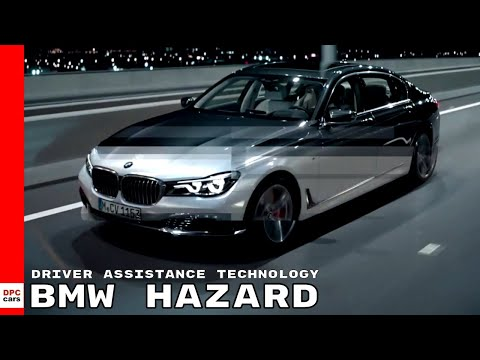 BMW Hazard Driver Assistance Technology