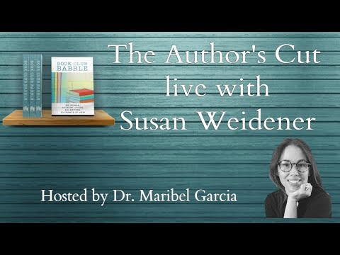 The Author's cut with Susan Weidener