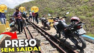 Ficamos Perdidos No Trilho Do Trem! ( Não É Clickbait )