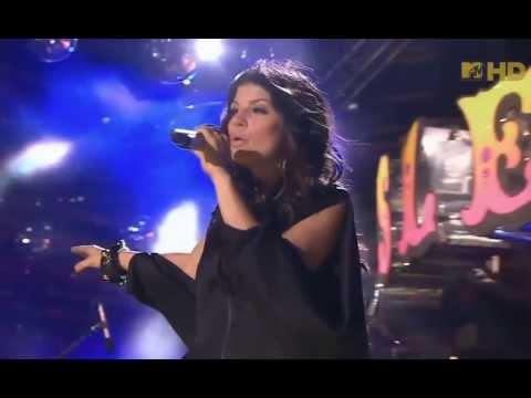 The Black Eyed Peas  ,HD, Meet Me Halfway   ,live, Isle of MTV ,HD