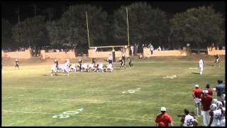 Will Zudock 2012 football highlights, Sophomore Season at RegentsSchool of Austin