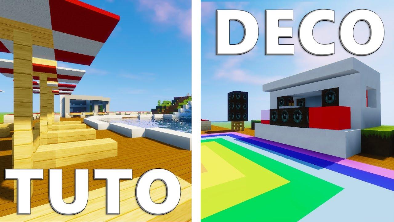 Deco Piscine Minecraft