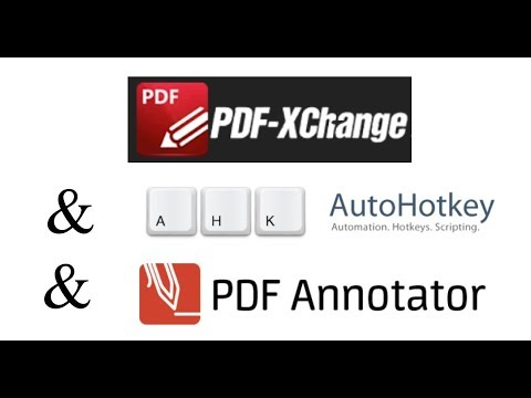 PDF Xchange and PDF Annotator for editing documents and using on an Interactive Whiteboard.