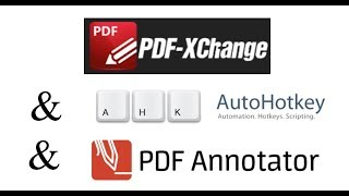 pDF Xchange and PDF Annotator for editing documents and using on an Interactive Whiteboard