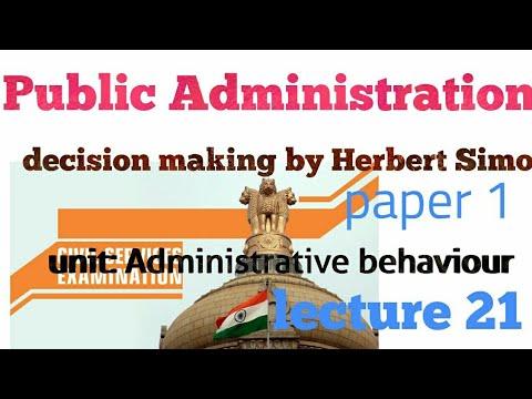 LEC 21 UPPSC UPSC IAS PCS WBCS BPSC public administration lecture
