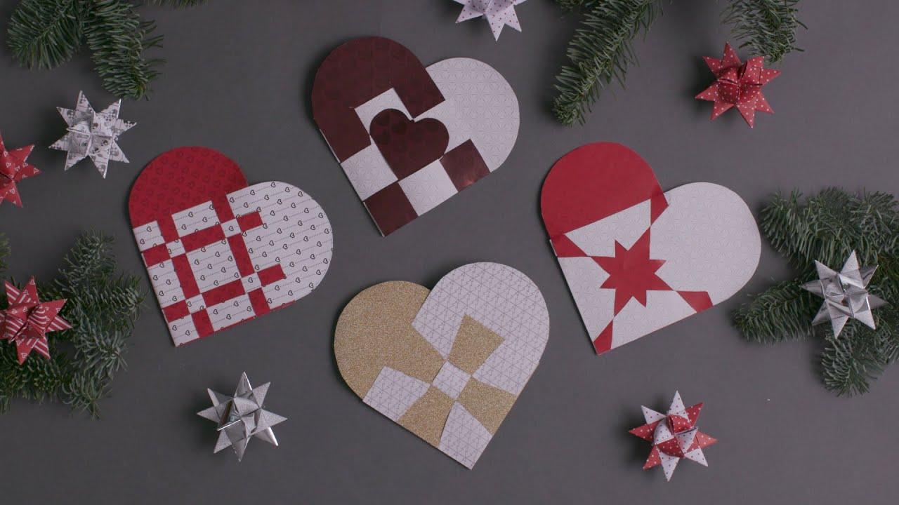 Pimp den op: Sådan fletter du fire flotte julehjerter