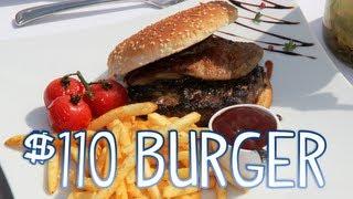 $110 Burger - Kobe Beef, Foie Gras, Truffles