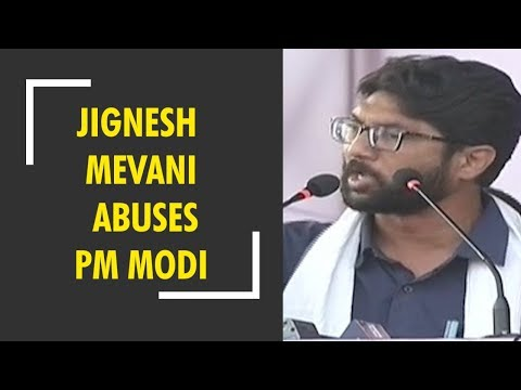 Breaking News: Jignesh Mevani abuses PM Modi, calls him 'Namak Haram'