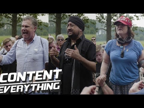 Steve, Raj & Amy Speaking @ #FreeTommyRobinson Speakers Corner Protest