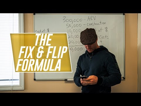 The FIX & FLIP Formula - How to calculate your investment property profits