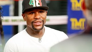mayweather the best thing about my career is the sweet science hitting and not getting hit