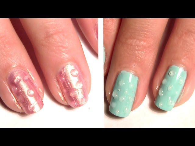 Get ready for the rainy season water droplets are the latest get ready for the rainy season water droplets are the latest trend in nail art soranews24 prinsesfo Choice Image
