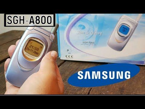 SAMSUNG SGH-A800: дамский угодник (2002) – ретроспектива