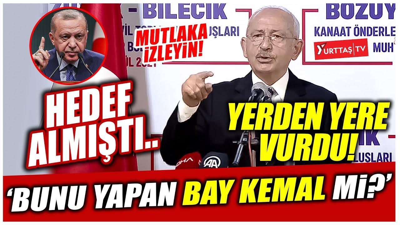 Download Erdoğan hedef almıştı.. Kılıçdaroğlu yerden yere vurdu! 'Bunu yapan Bay Kemal mi? '
